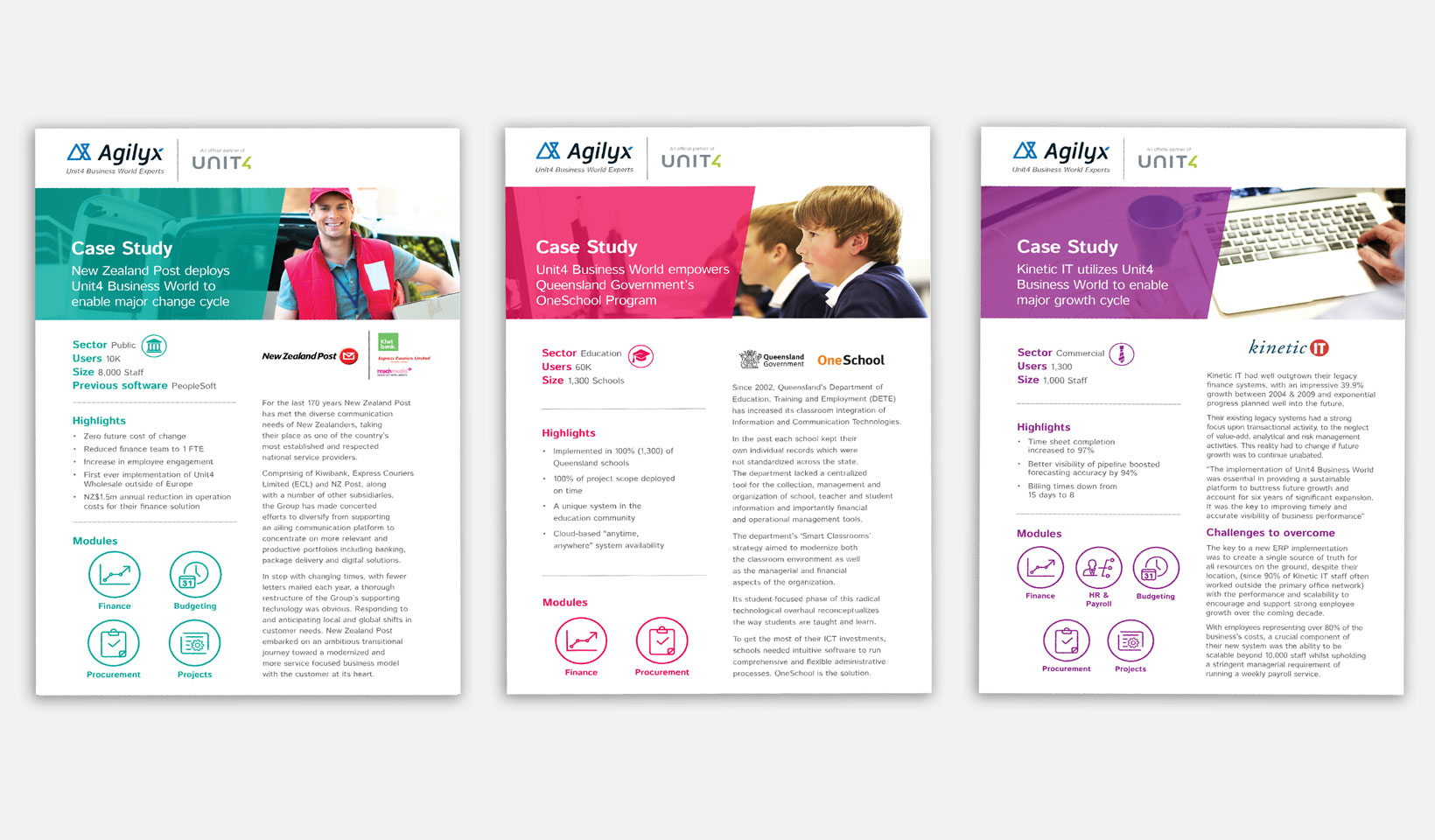 agilyx flyer design