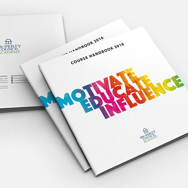Property-council-academy-brochure-design