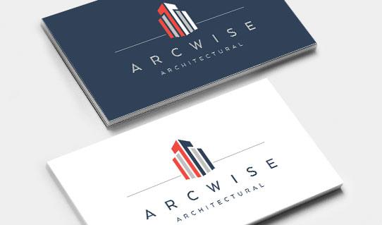 Arcwise Architectural logo design