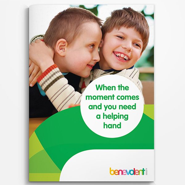 Benevolent Society brochure design
