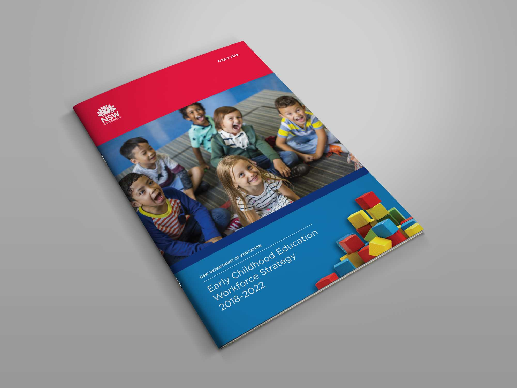 NSW Dept of Education brochure design by Think Creative & Print